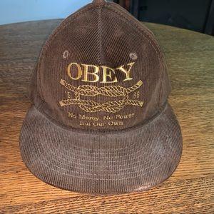 OBEY CORDUROY HAT  (c)